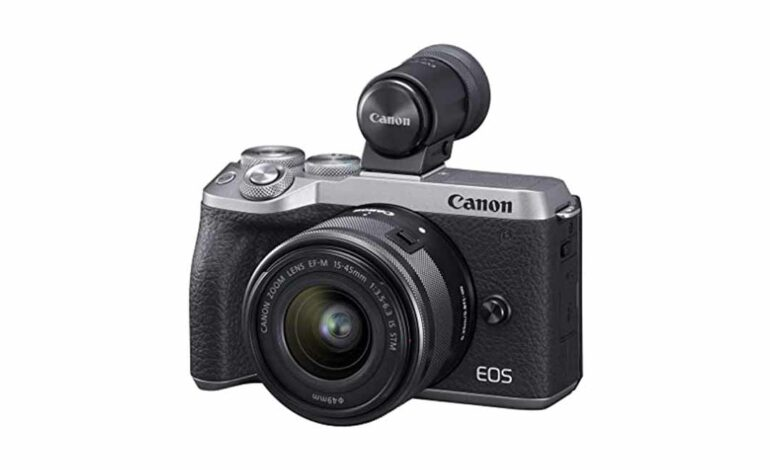 Best Canon M6 Mark II Black Friday & Cyber Monday Deals in 2021